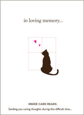 A Pack of our Pet Loss Sympathy Cards