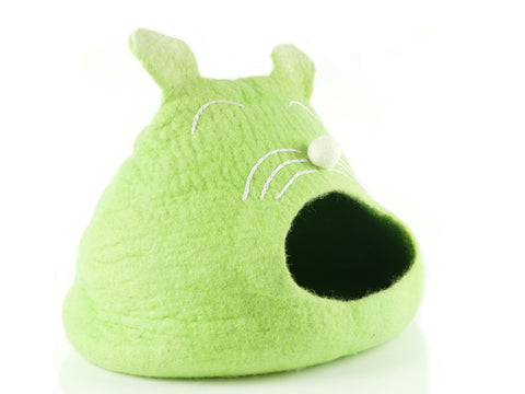"""Cat Ear"" Felt Cat Cave for Small Cats - Snooty Paws - 2"
