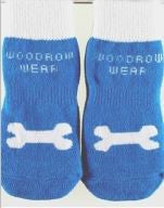 Power Paws Advanced – Reinforced Toe  - Blue With Bone - Snooty Paws - 1