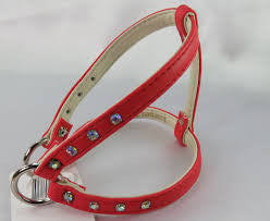 Step in Harness - Plush Red - Luxepets