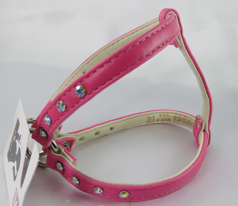 Step in Harness - Hot Pink- Luxepets
