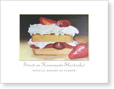 Sweet on Homemade Shortcake