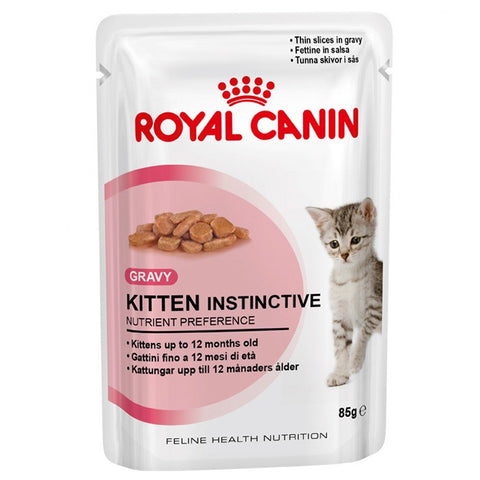 Royal Canin KITTEN Instinctive cat food in Gravy