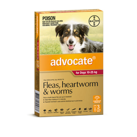 Advocate Flea and Worm Treatment for Dogs - All sizes