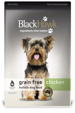 Black Hawk Adult Dog Grainfree Chicken Dry Food