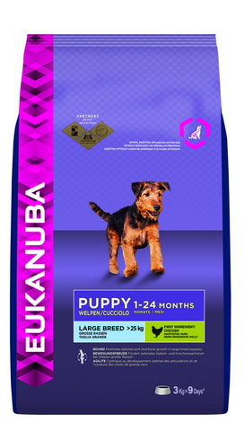 Eukanuba Puppy Large Breed Chicken Dry Puppy Food