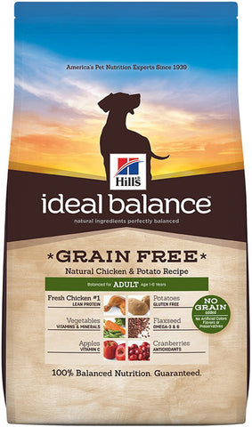 Hill's Science Diet Ideal Balance Adult Grain Free Chicken and Potato Dry Dog Food