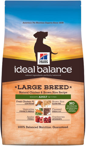 Hill's Science Diet Ideal Balance Adult Large Breed Chicken and Brown Rice Dry Dog Food
