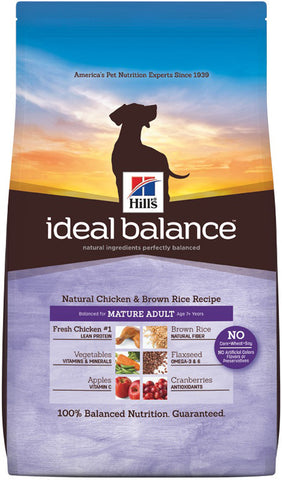 Hill's Science Diet Ideal Balance Mature Chicken and Brown Rice Dry Dog Food