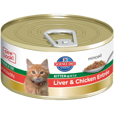 Hill's Science Diet Kitten Liver & Chicken Entree