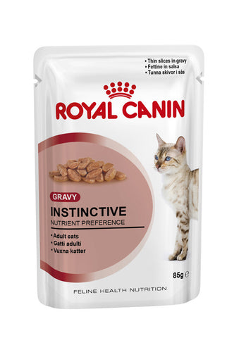 Royal Canin Feline INSTINCTIVE Adult Cat Food in Gravy
