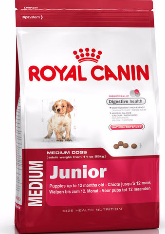 Royal Canin MEDIUM: Junior Dog
