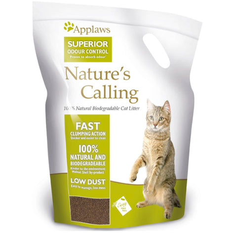 Applaws Natures Calling Clumping Cat Litter - 2.7kg and 6 kg