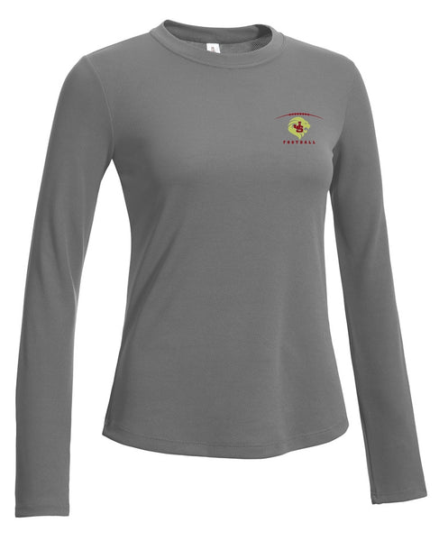 Crimson Pride Ladies Performance Long Sleeve T