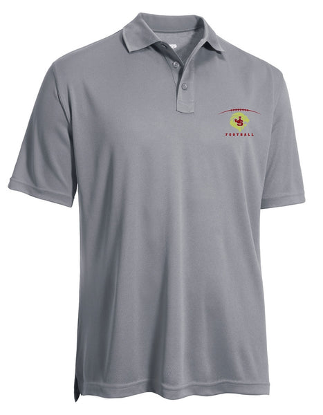 Men's Solid Performance Polo Shirt