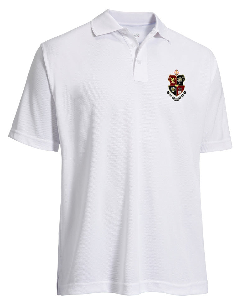 Uniform Performance Polo Shirt with the JSerra Crest