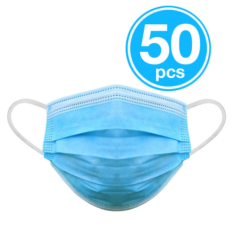 Medical Disposable Masks - Grade Level 2, 50 Pcs