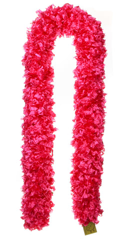 Original Featherless Boa - Hot Pink - Happy Boa: Faux Feather Boa