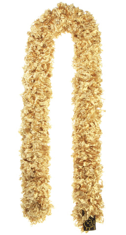 Original Featherless Boa - Saints Solid Gold - Happy Boa: Faux Feather Boa