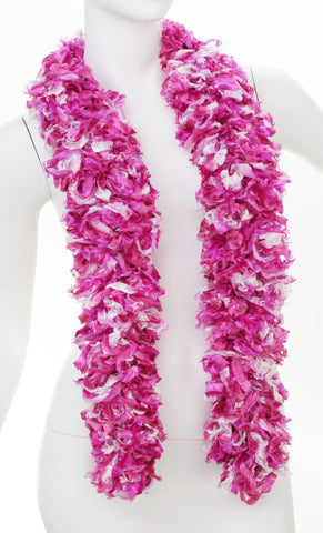 Original Featherless Boa - Luau Magenta - Happy Boa: Faux Feather Boa