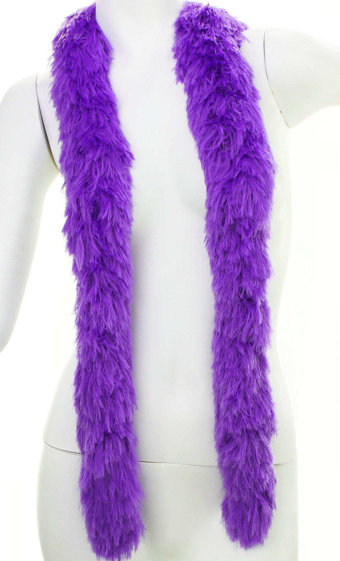 Faux Fur Festival Boa - Purple
