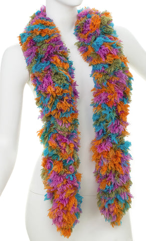 SUPER Sized Featherless Boa - Shag - Happy Boa: Faux Feather Boa