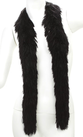 Faux Fur Festival Boa - Black - Happy Boa: Faux Feather Boa