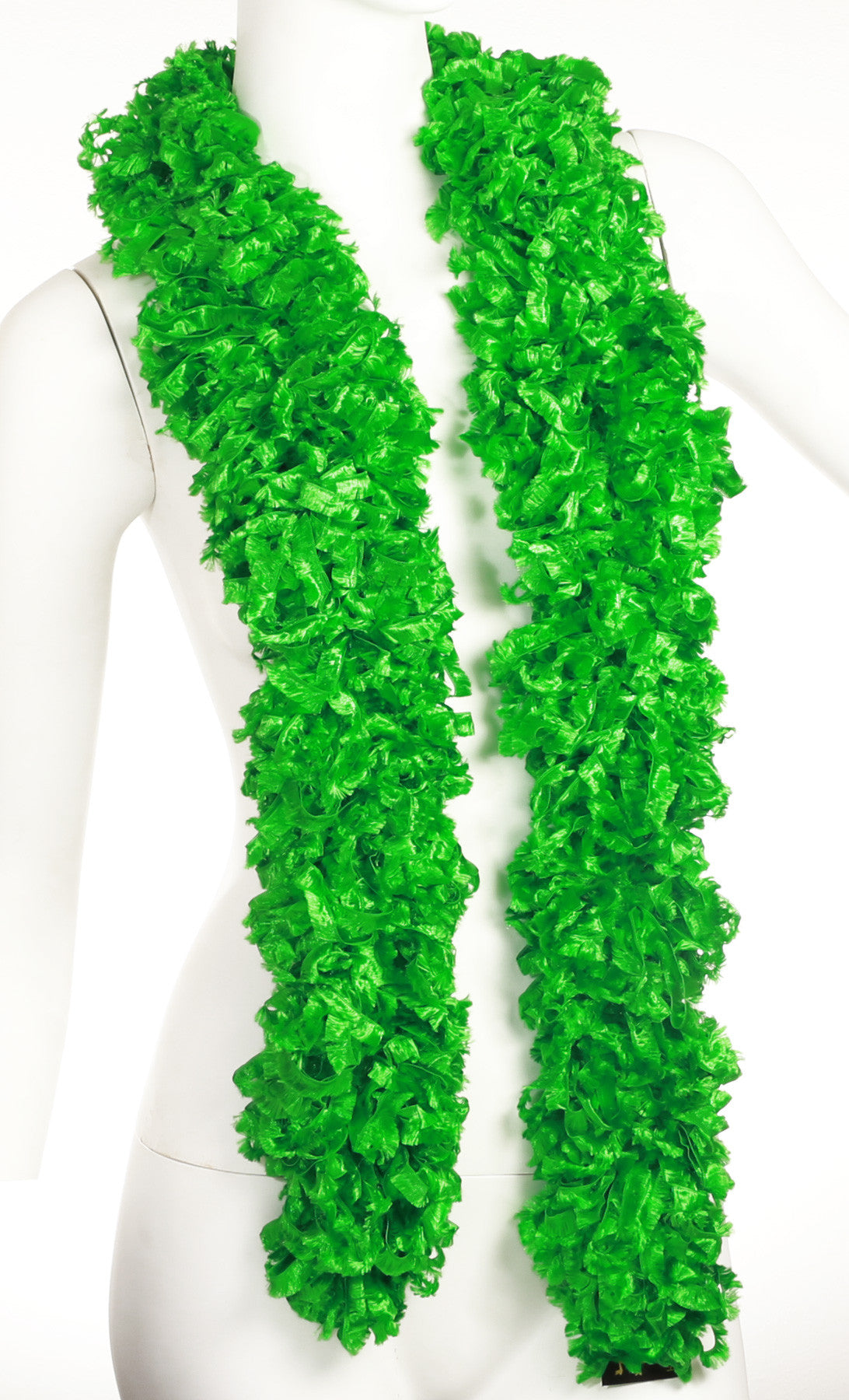 Original Featherless Boa - Green - Happy Boa: Faux Feather Boa