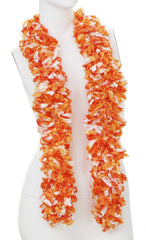 Original Featherless Boa - Luau Orange - Happy Boa: Faux Feather Boa