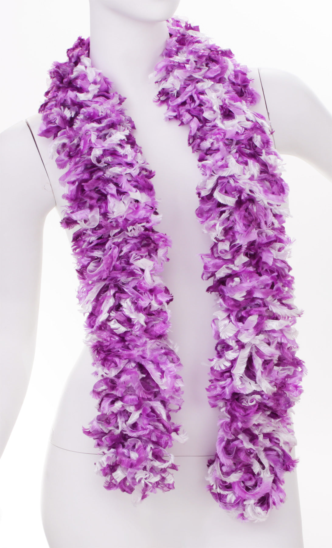 Original Featherless Boa - Luau Purple - Happy Boa: Faux Feather Boa