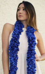 Original Featherless Boa - Blue - Happy Boa: Faux Feather Boa