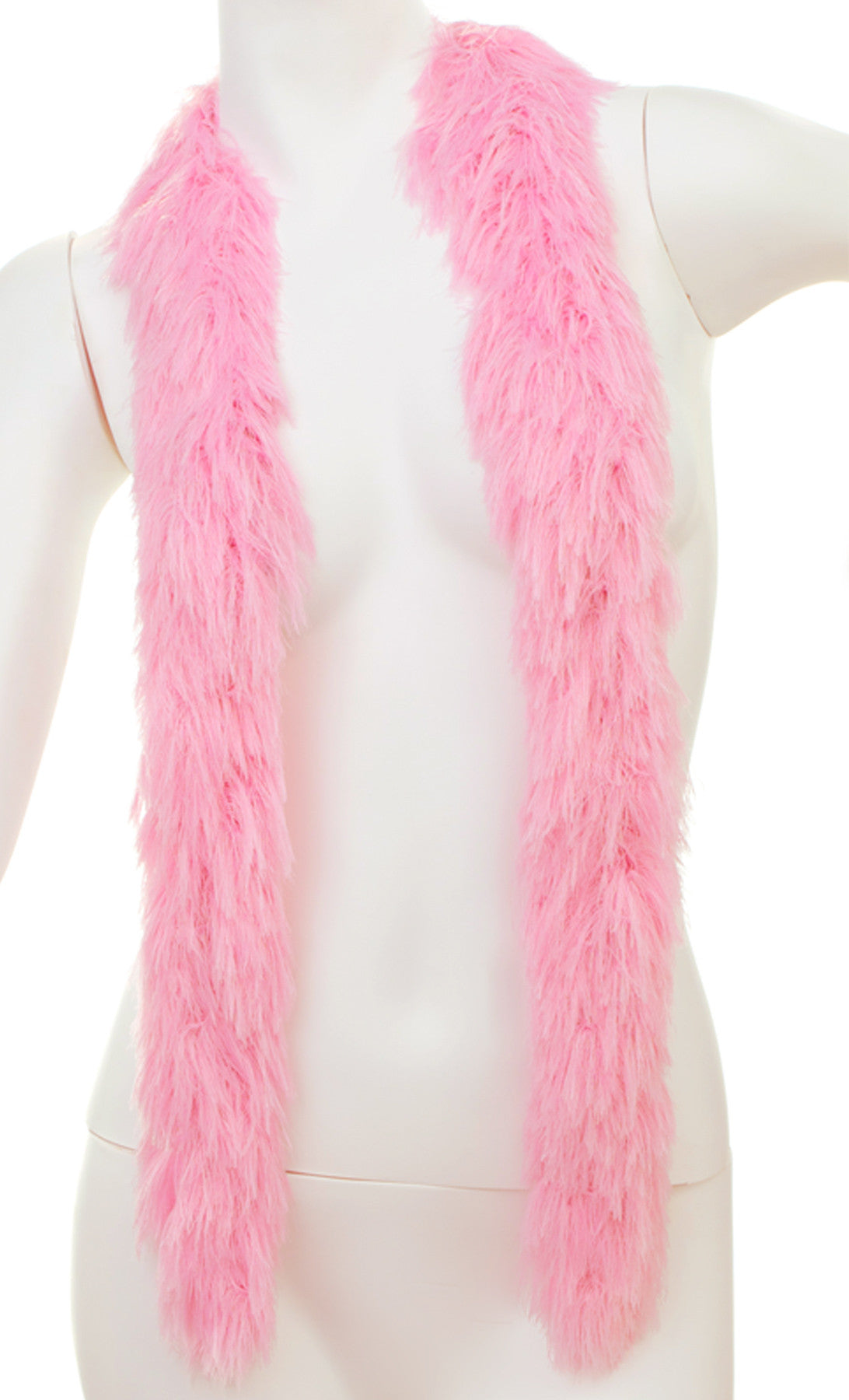 Faux Fur Festival Boa - Soft Pink - Happy Boa: Faux Feather Boa