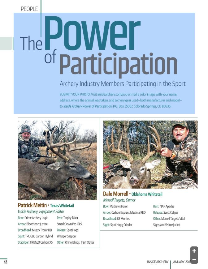 Inside Archery January 2019 digital magazine