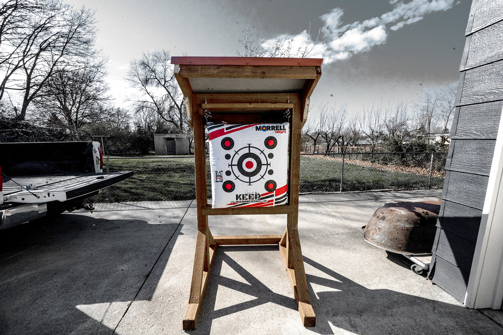DIY: Build your own Backyard Archery Range or Target Stand/Cover