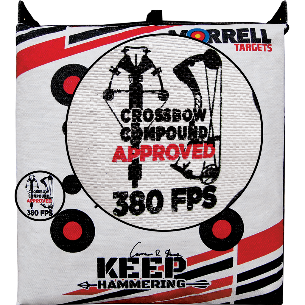 Keep Hammering™ Outdoor Range Bag Target