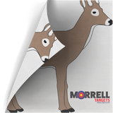 Two Sided Polypropylene Face Target - Whitetail