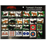 Turkey I.B.O/NASP Polypropylene Archery Target Face
