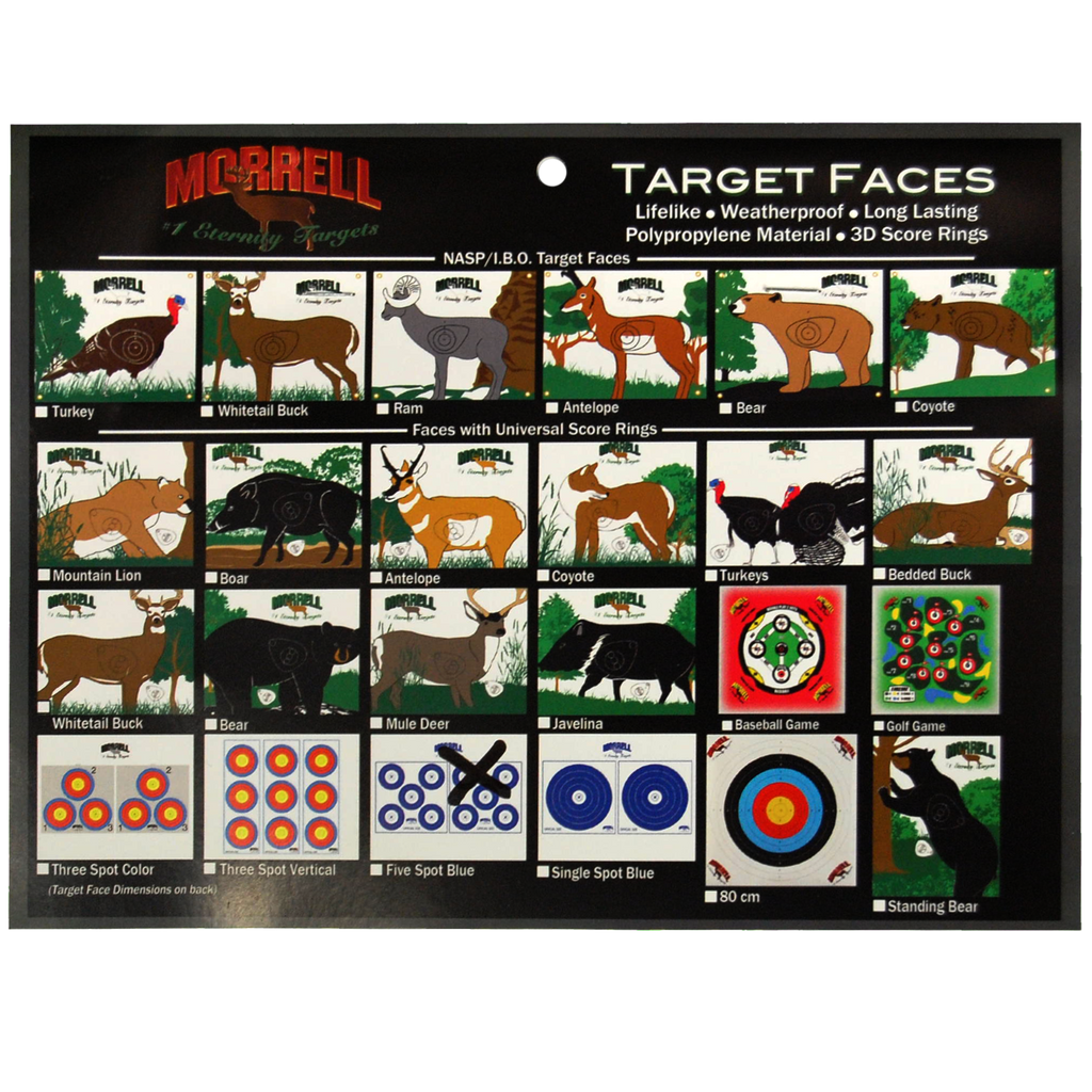 Turkey Polypropylene Archery Target Face