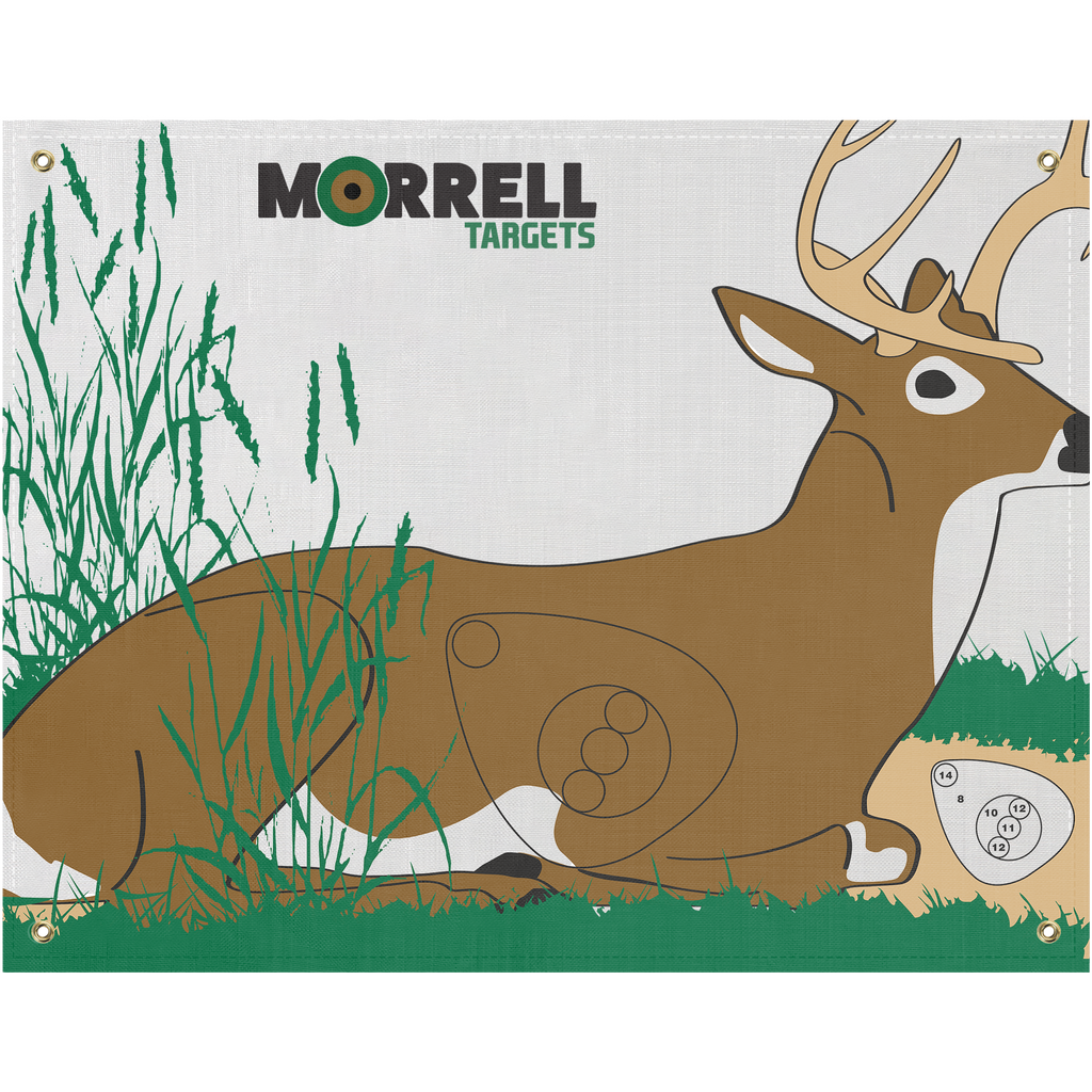 Bedded Deer Polypropylene Archery Target Face