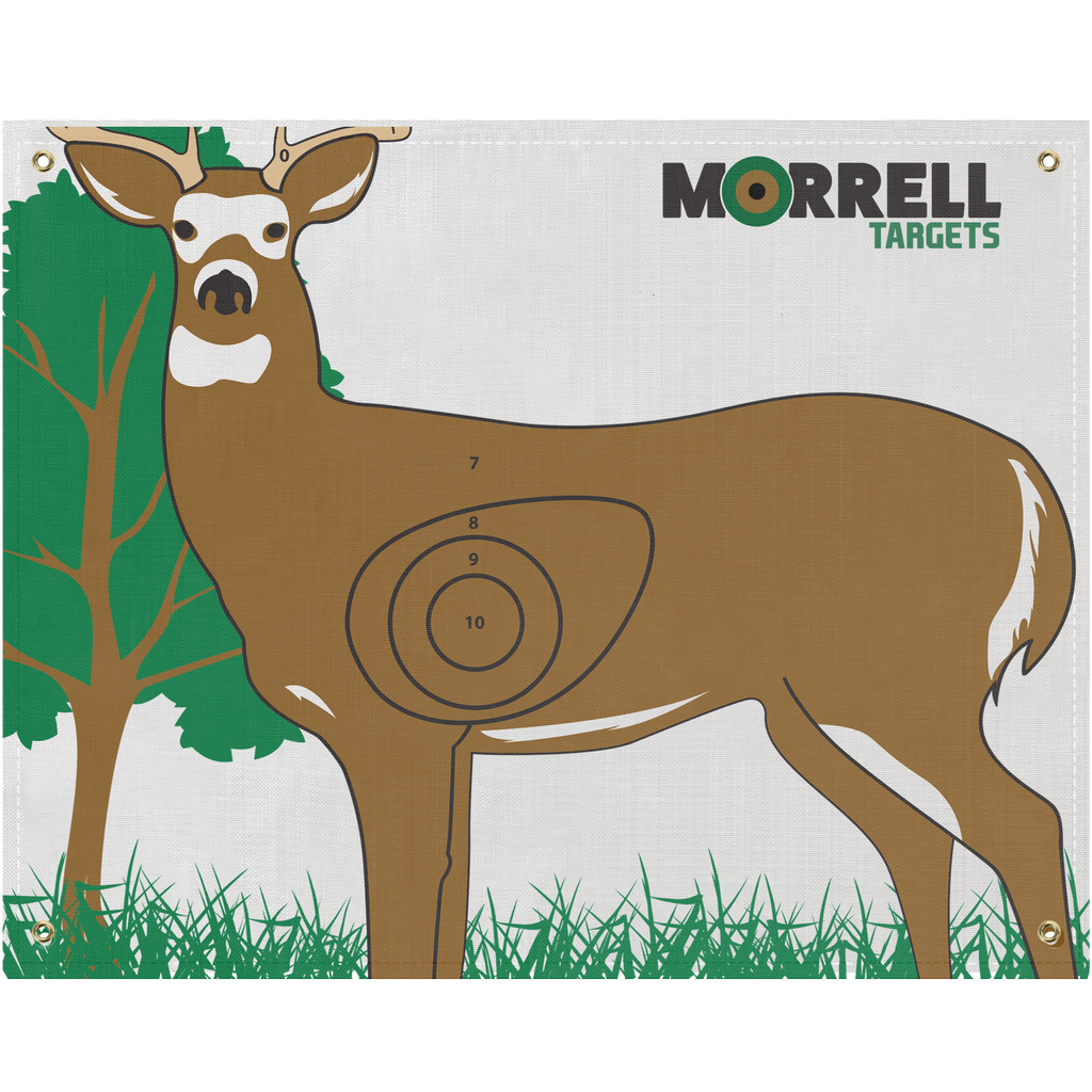 Whitetail Deer I.B.O/NASP Polypropylene Archery Target Face