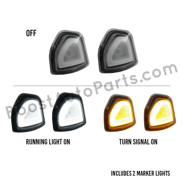Dodge Ram LED Switchback Mirror Lights