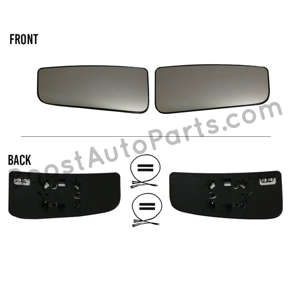 Ford Tow Mirror Heated Lower Glass Upgrade Kit (2015 Style)