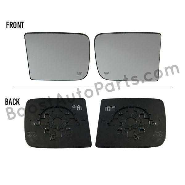 Dodge Ram Tow Mirror Upper Glass - 4th & 5th Gen Style Mirrors
