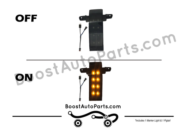 Tow Mirror Replacement Marker Lights