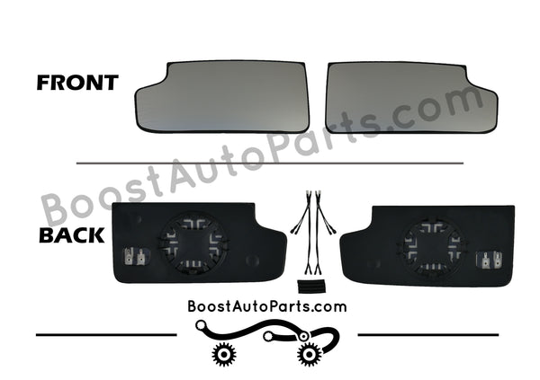 Heated Lower Glass - GM Tow Mirror Upgrade Kit (2015 Style Mirrors)