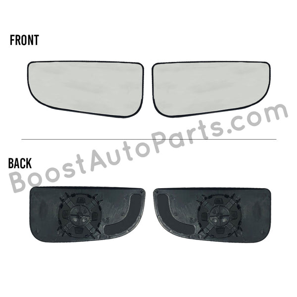 Dodge Ram Tow Mirror Lower Glass - 4th Gen Style Mirrors