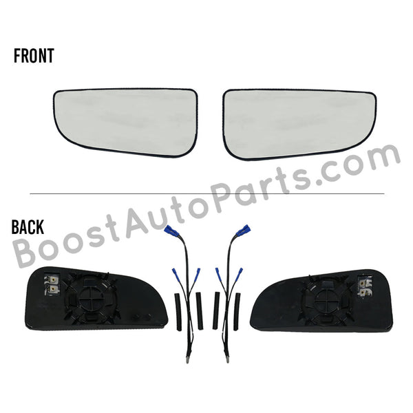 Heated Lower Glass - Dodge Ram Tow Mirror Upgrade Kit (4th Gen Style Mirrors)