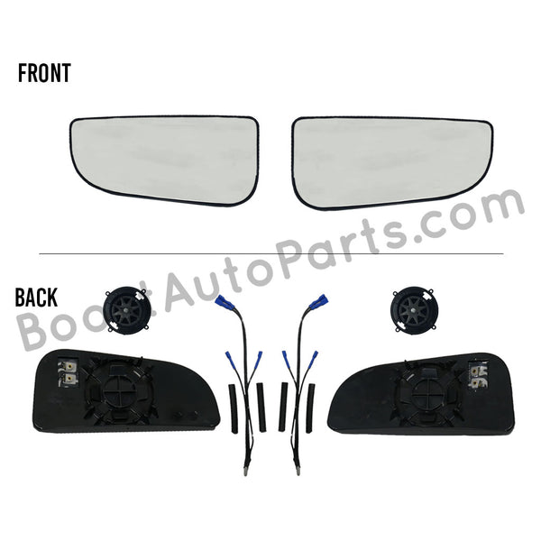 Heated Lower Glass - Dodge Ram Tow Mirror Upgrade Kit (4th & 5th Gen Style Mirrors)