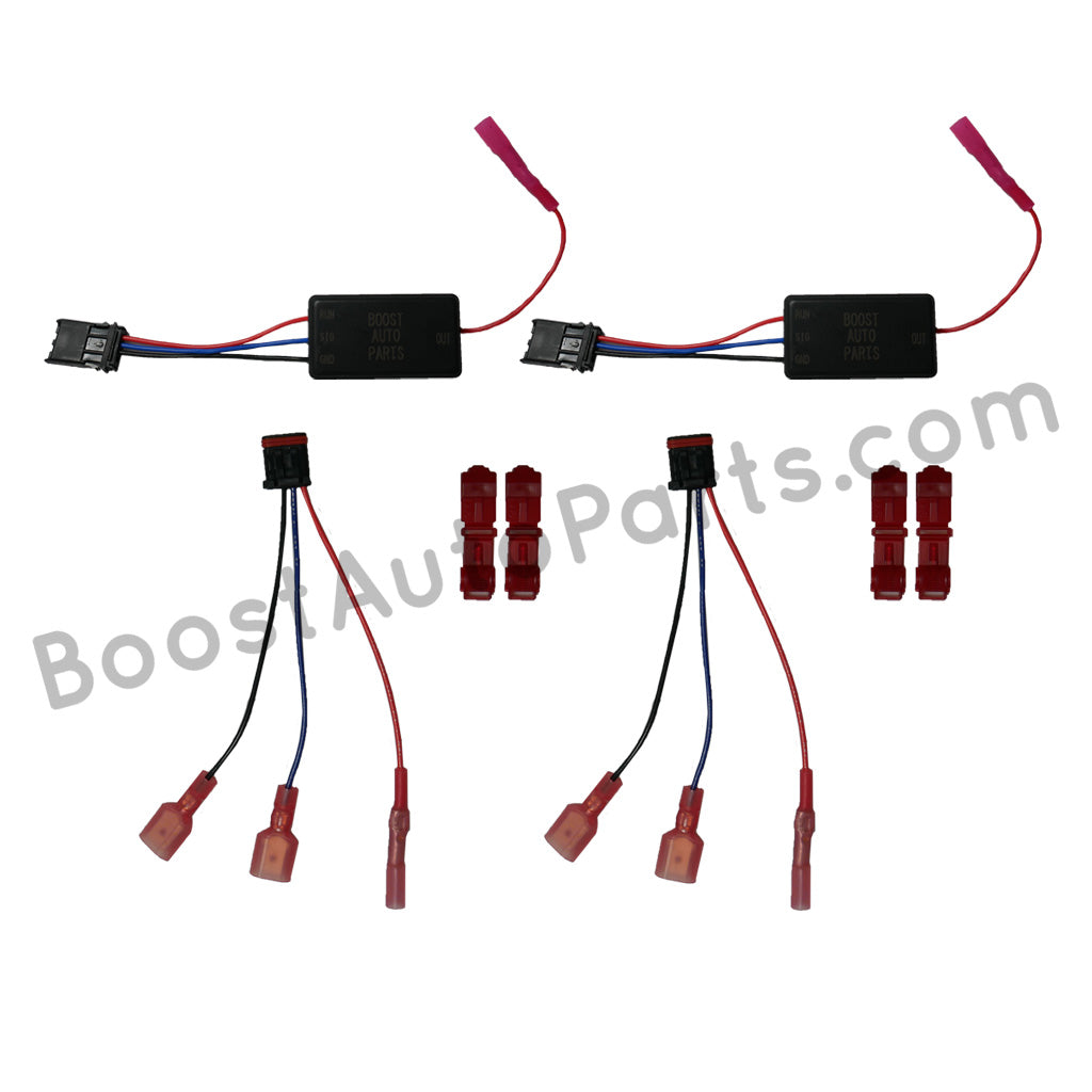 Ford F150/F250 Signal & Running Light Mirror Harness (Tow & Small) – Boost  Auto PartsBoost Auto Parts