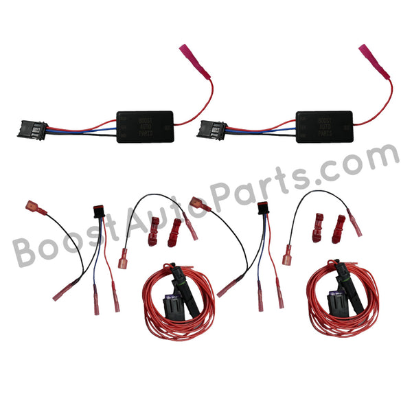 Dual Function (Signal & Running Light) Wiring Harness for Aftermarket Mirrors - Silverado & Sierra (1988-2019)